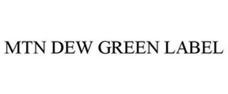 MTN DEW GREEN LABEL