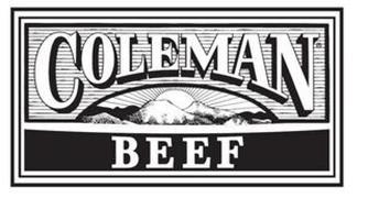 COLEMAN BEEF