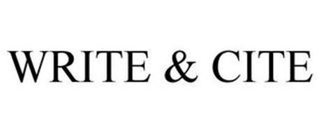 WRITE & CITE