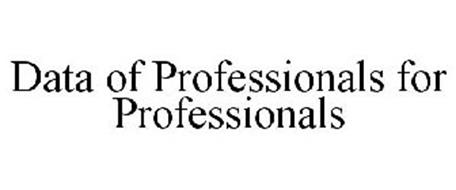 DATA OF PROFESSIONALS FOR PROFESSIONALS