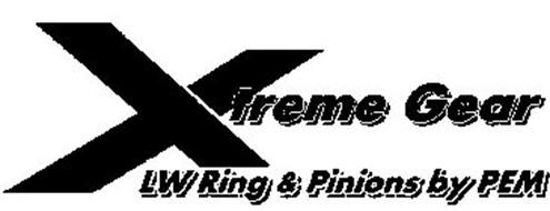 XTREME GEAR LW RING & PINIONS BY PEM