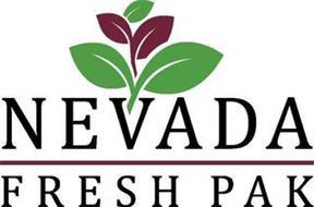 NEVADA FRESH PAK