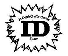 ID IN DEPTH QUALITY CONTROL SYSTEM