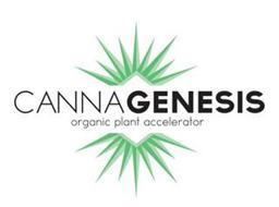 CANNAGENESIS ORGANIC PLANT ACCELERATOR
