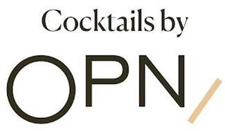 COCKTAILS BY OPN