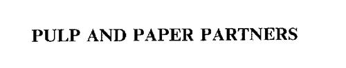 PULP AND PAPER PARTNERS