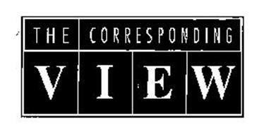 THE CORRESPONDING VIEW