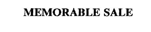 MEMORABLE SALE