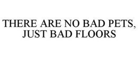 THERE ARE NO BAD PETS, JUST BAD FLOORS