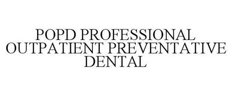 POPD PROFESSIONAL OUTPATIENT PREVENTATIVE DENTAL