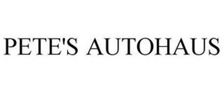 PETE'S AUTOHAUS