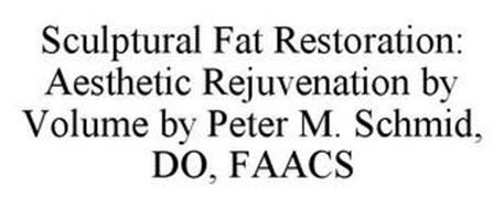 SCULPTURAL FAT RESTORATION: AESTHETIC REJUVENATION BY VOLUME BY PETER M. SCHMID, DO, FAACS