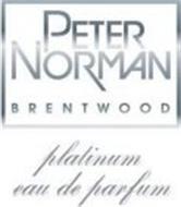 PETER NORMAN BRENTWOOD PLATINUM EAU DE PARFUM