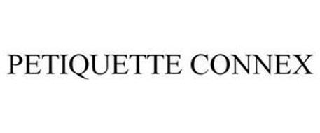 PETIQUETTE CONNEX