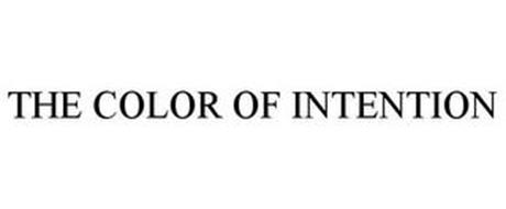 THE COLOR OF INTENTION