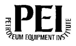 PEI PETROLEUM EQUIPMENT INSTITUTE