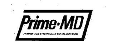 PRIME MD PRIMARY CARE EVALUATION OF MENTAL DISORDERS