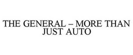 THE GENERAL - MORE THAN JUST AUTO