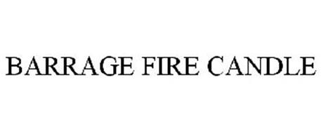 BARRAGE FIRE CANDLE