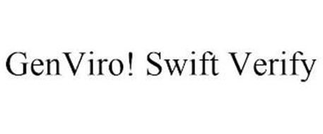 GENVIRO! SWIFT VERIFY