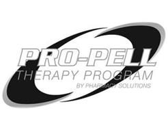 PRO-PELL THERAPY PROGRAM BY PHARMACY SOLUTIONS