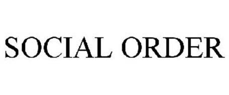 SOCIAL ORDER