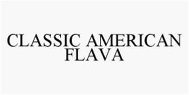 CLASSIC AMERICAN FLAVA