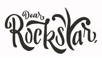 DEAR ROCKSTAR,