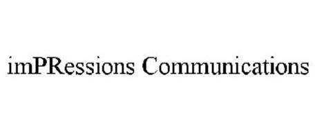 IMPRESSIONS COMMUNICATIONS