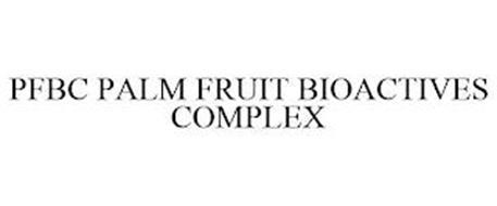 PFBC PALM FRUIT BIOACTIVES COMPLEX