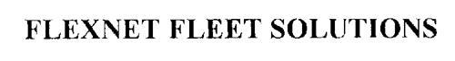 FLEXNET FLEET SOLUTIONS