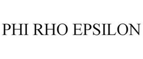 PHI RHO EPSILON