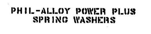 PHIL-ALLOY POWER PLUS SPRING WASHERS