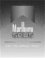 MARLBORO SNUS MILD 6 SPIT-FREE TOBACCO POUCHES