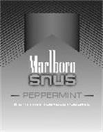MARLBORO SNUS PEPPERMINT 6 SPIT-FREE TOBACCO POUCHES