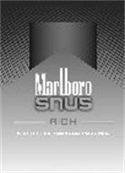 MARLBORO SNUS RICH 6 SPIT-FREE TOBACCO POUCHES