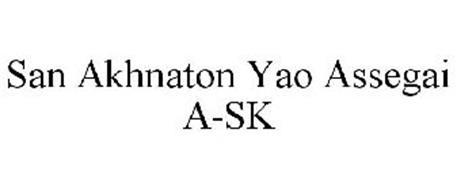 SAN AKHNATON YAO ASSEGAI A-SK