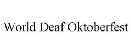 WORLD DEAF OKTOBERFEST