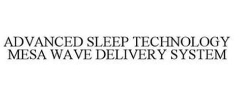 ADVANCED SLEEP TECHNOLOGY MESA WAVE DELIVERY SYSTEM