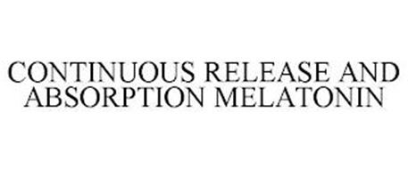 CONTINUOUS RELEASE AND ABSORPTION MELATONIN