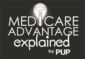 MEDICARE ADVANTAGE EXPLAINED BY PUP