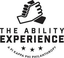 THE ABILITY EXPERIENCE A PI KAPPA PHI PHILANTHROPY