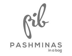 PIB PASHMINAS IN A BAG