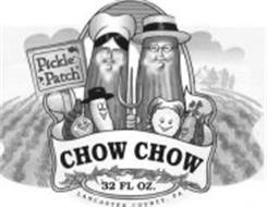 PICKLE PATCH CHOW CHOW 32 FL OZ. LANCASTER COUNTY, PA
