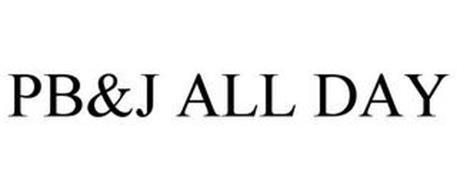 PB&J ALL DAY