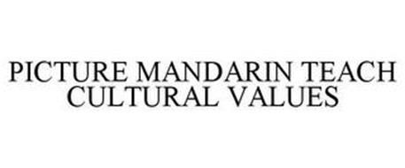 PICTURE MANDARIN TEACH CULTURAL VALUES