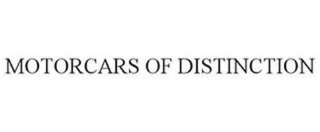 MOTORCARS OF DISTINCTION