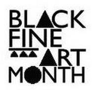 BLACK FINE ART MONTH