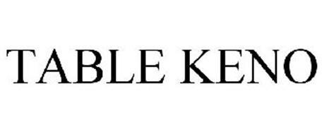 TABLE KENO