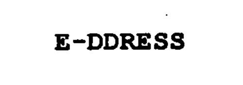 E-DDRESS